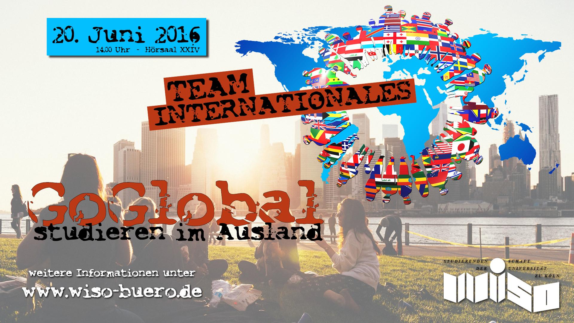 Goglobal studieren im ausland wiso buero for Studieren im ausland